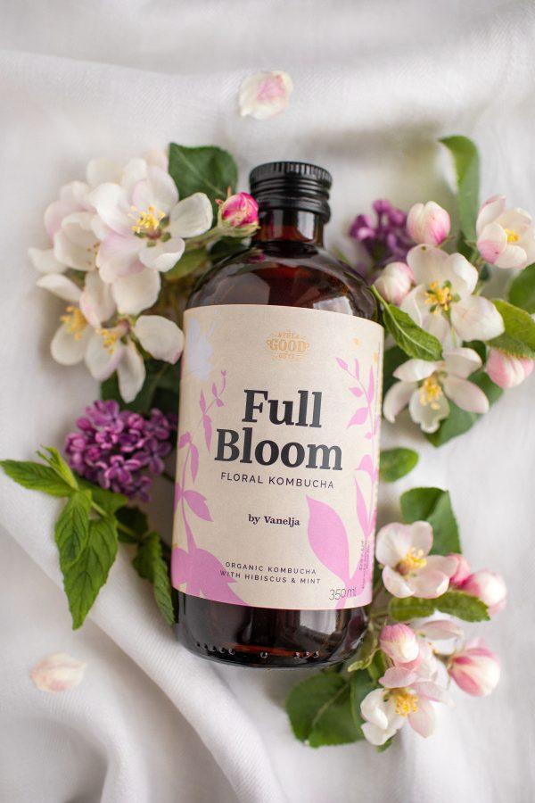 Full Bloom Floral Kombucha