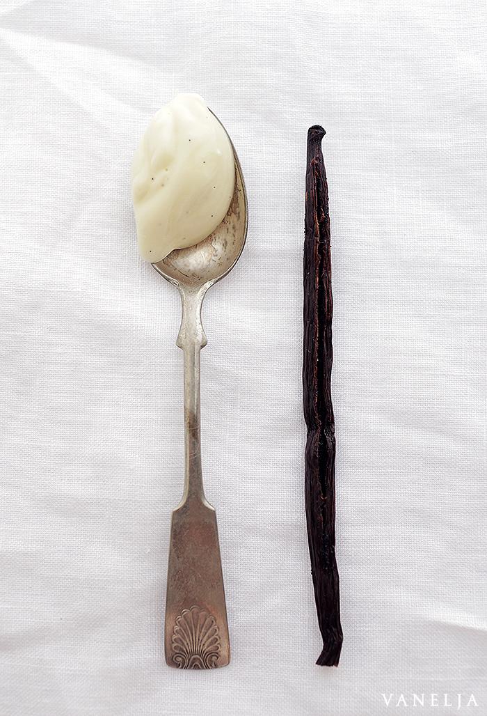 Vaniljainen vartalovoide