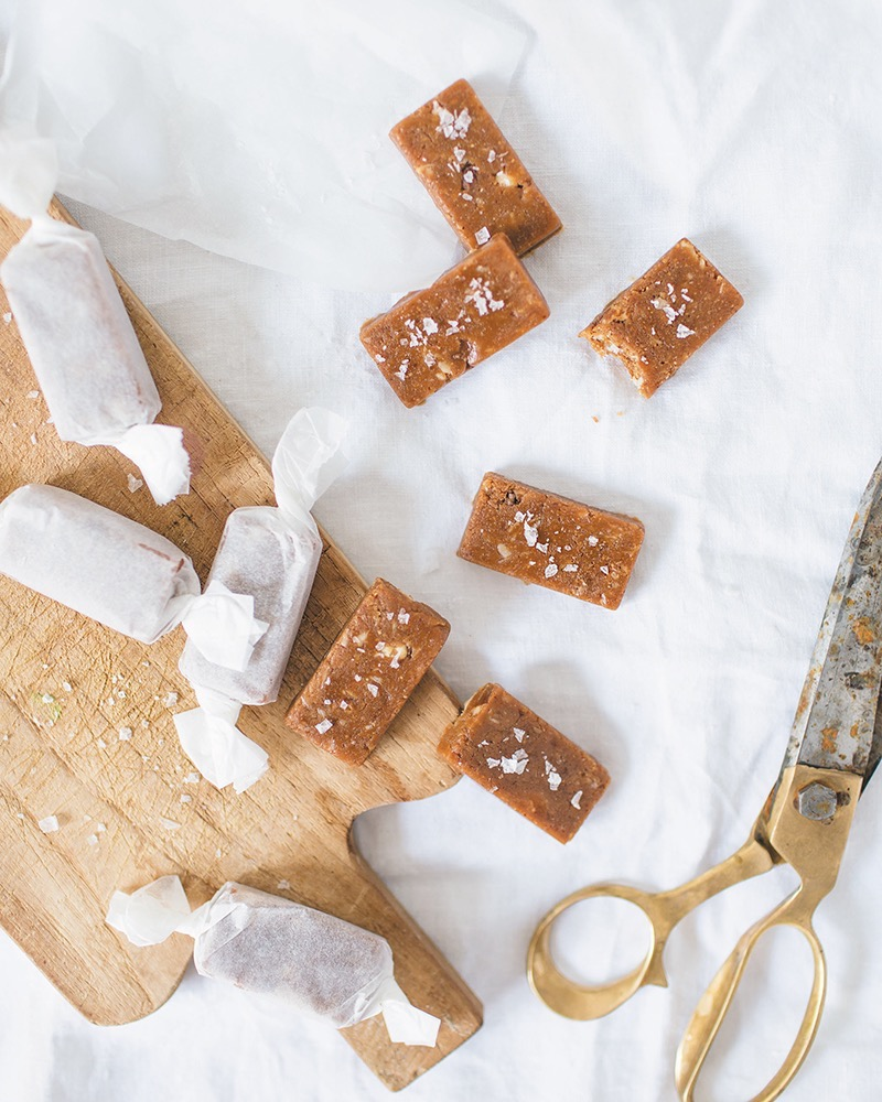 Sea Salt Toffee candies