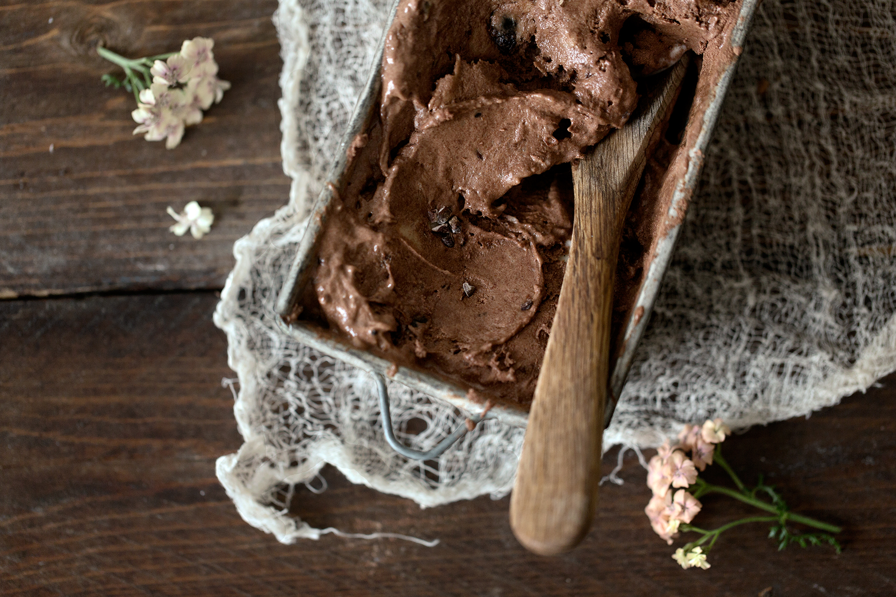 Rom Raisin Chocolate Ice Cream