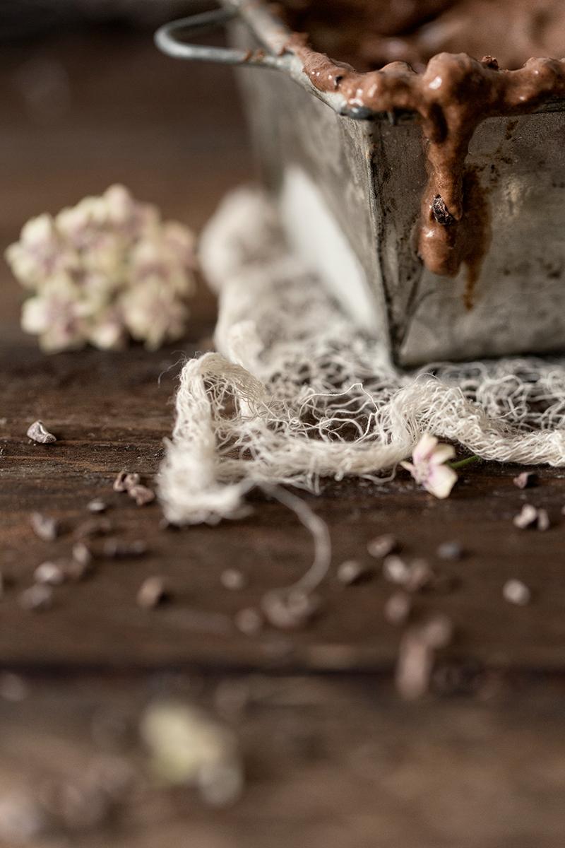 Rommirusina-suklaajäätelö