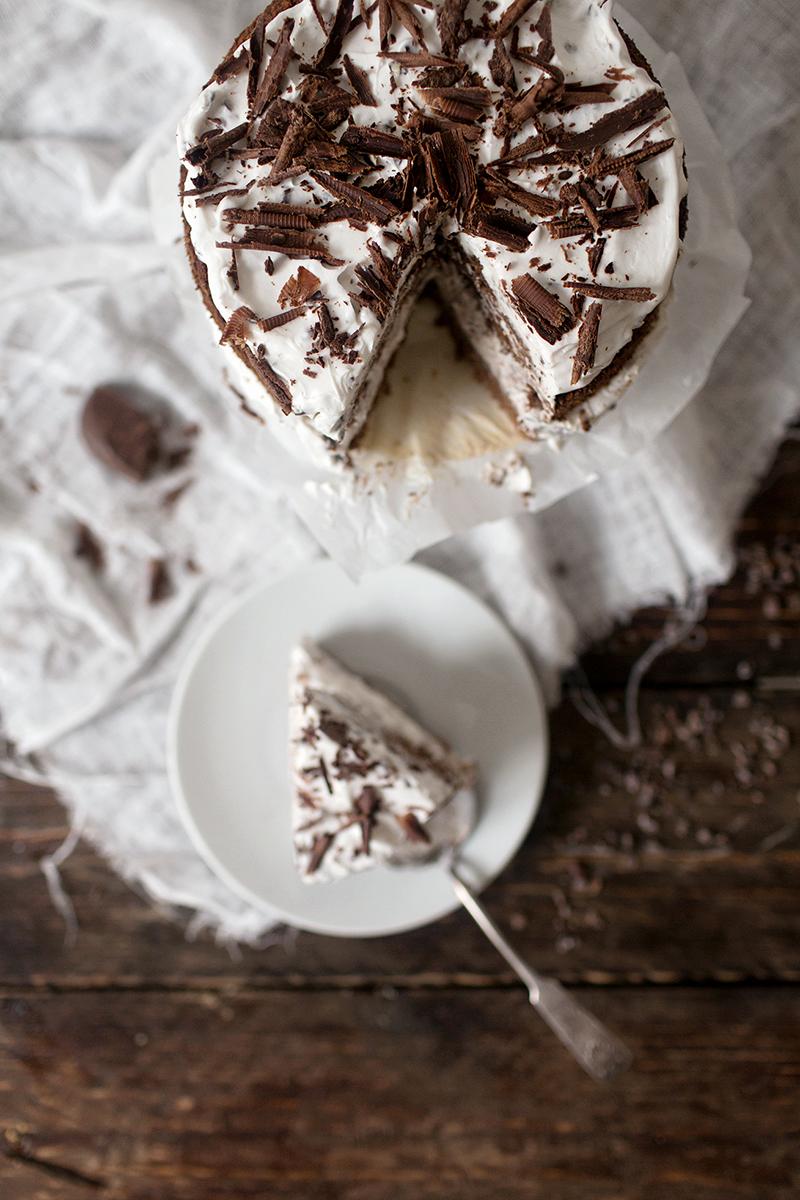 Stracciatella Chocolate Cake
