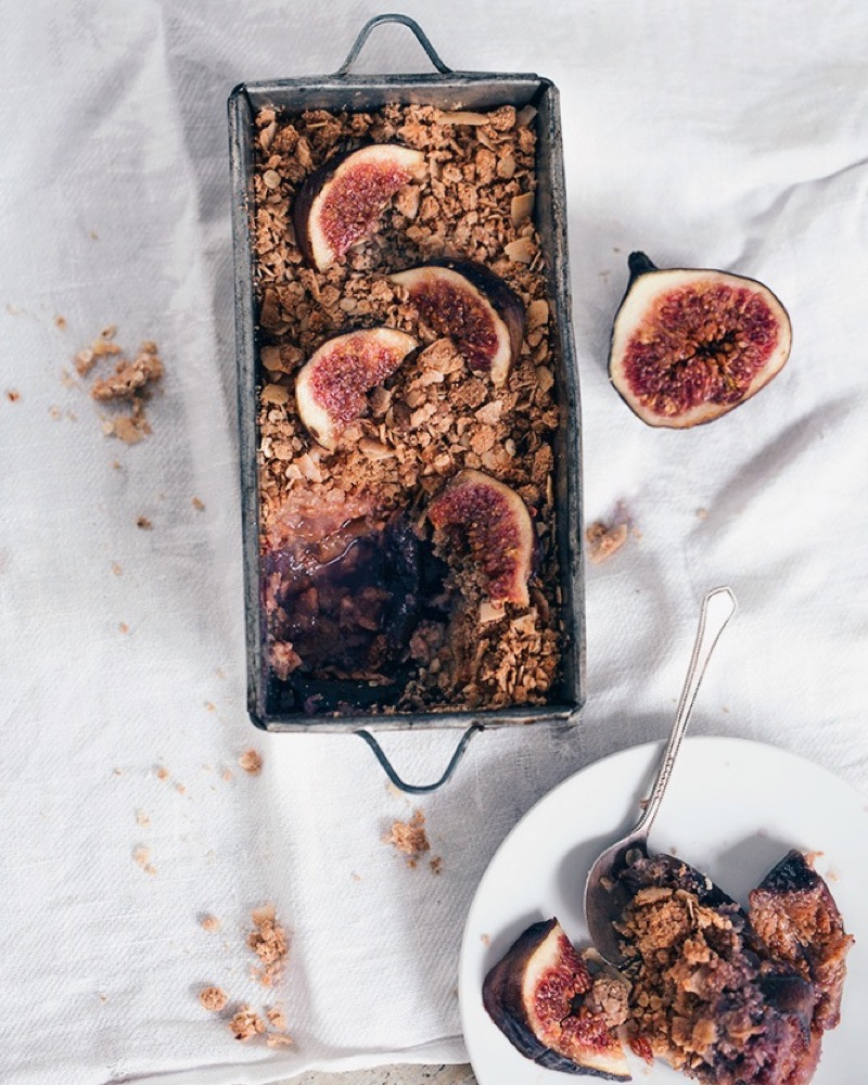 Fig Pear Crumble